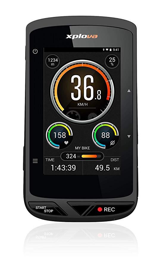Amazon Com Xplova X5 Evo Gps Cycling Computer With Dash Cam