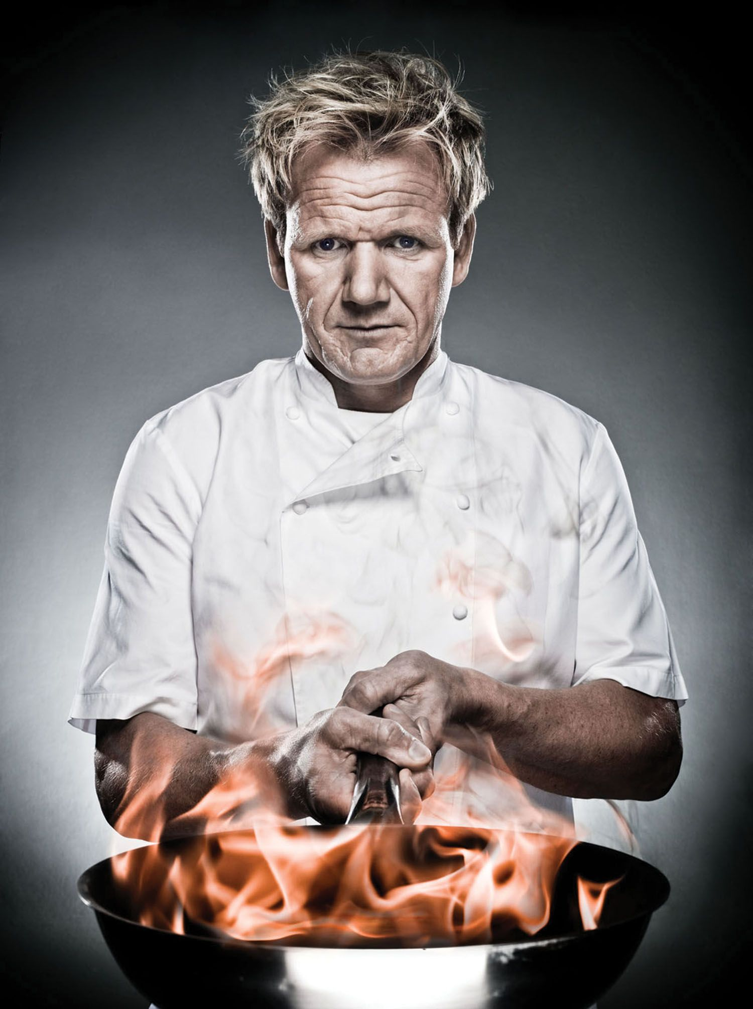 Gordon Ramsey Not my typical beauty, but he is one sexy mo fo ...