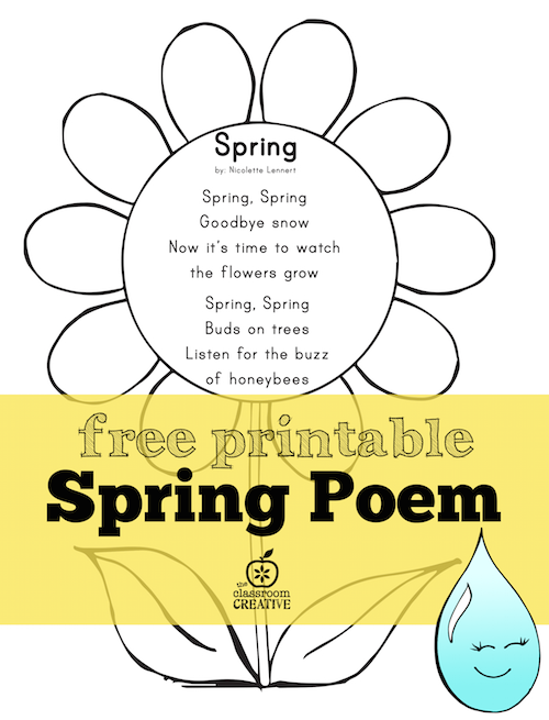 35+ Spring Activities & Books to Use in the Classroom | Kindergarten ...