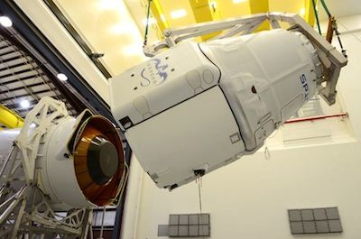 Spaceflight Now   Falcon Launch Report   Dragon contamination cleanup forces launch delay