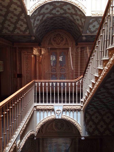 Cottage d'Alexandra - Intérieur - Peterhof - Le Grand Escalier