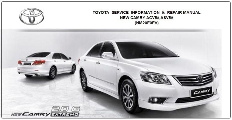 toyota camry 2008 gsic workshop manual toyota repair service rh pinterest com