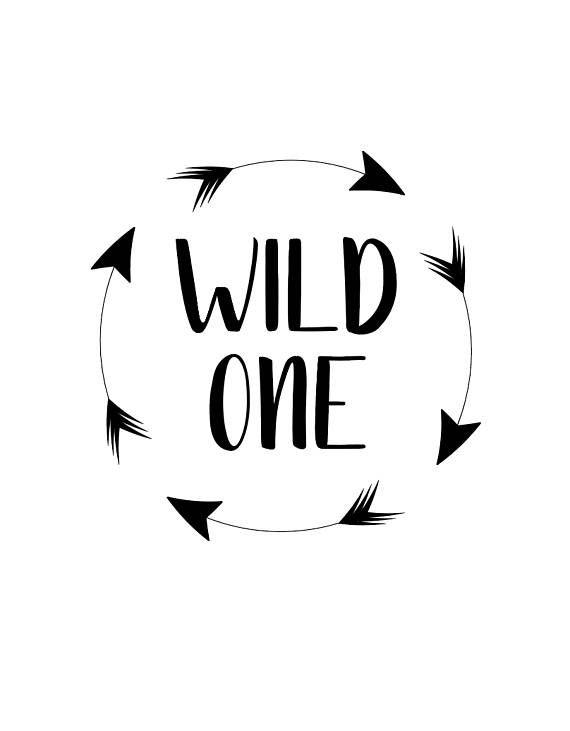 First Birthday svg Wild One Girl Girl First Birthday Birthday Onesie svg Wild One SVG Silhouette First Birthday SVG Cricut