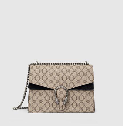 Gucci - borsa a spalla dionysus in tessuto GG supreme 403348KHNRN9769