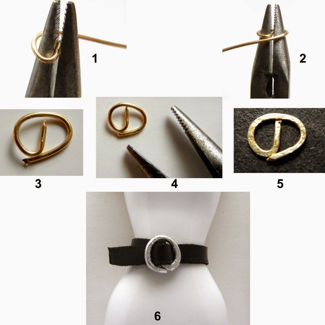 Small buckles for crafts - Fashion Doll Stylist Mini Buckle Tutorial