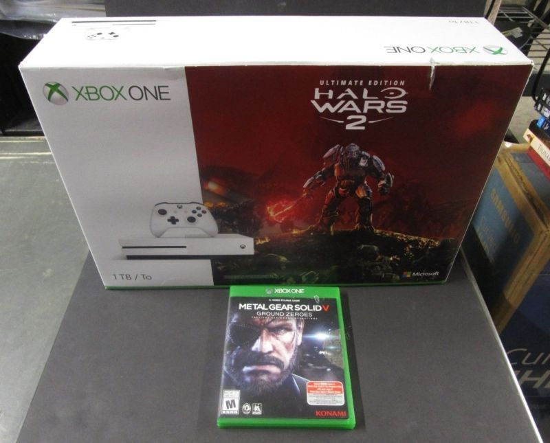 MA5) Microsoft Xbox One S Halo Wars 2 Bundle 1TB White