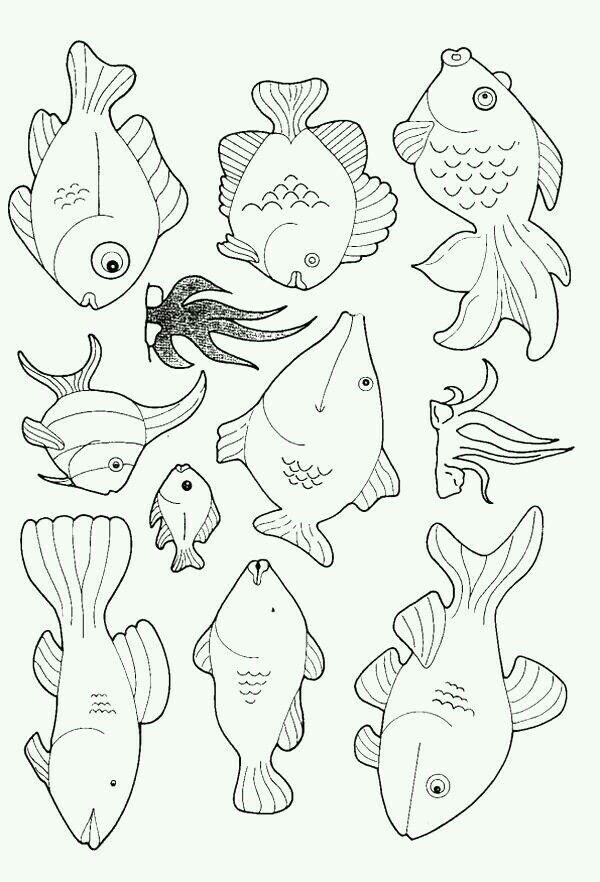 Pin By Leonor Ciranda On Photo Art Fish Coloring Page Cool Coloring Pages Coloring Pages