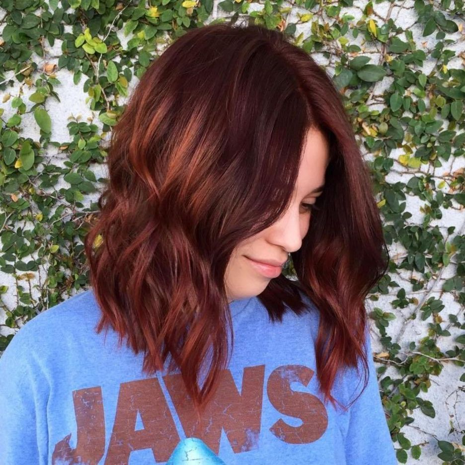 Auburn Hair #32: Burning Hot Cinnamon Waves
