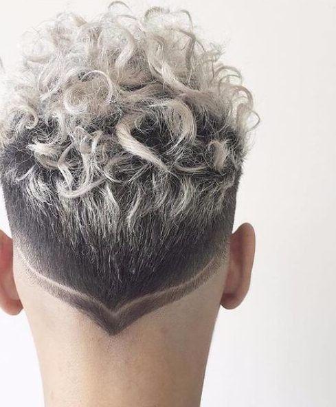 Platinum Blonde Highlights Curly Silver Hair Hair Styles Curly Hair Styles