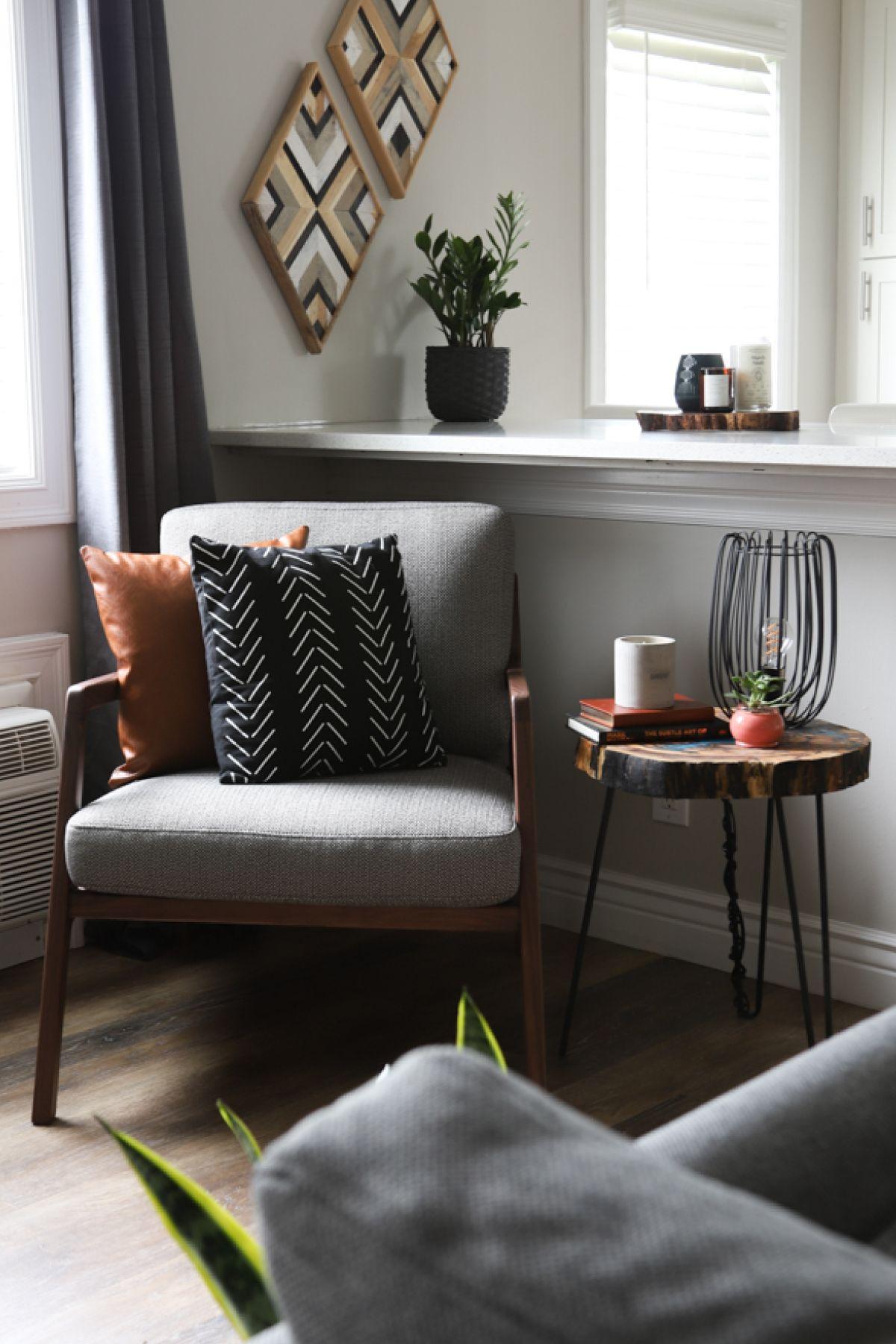 Denman Canyon Charcoal Chair
