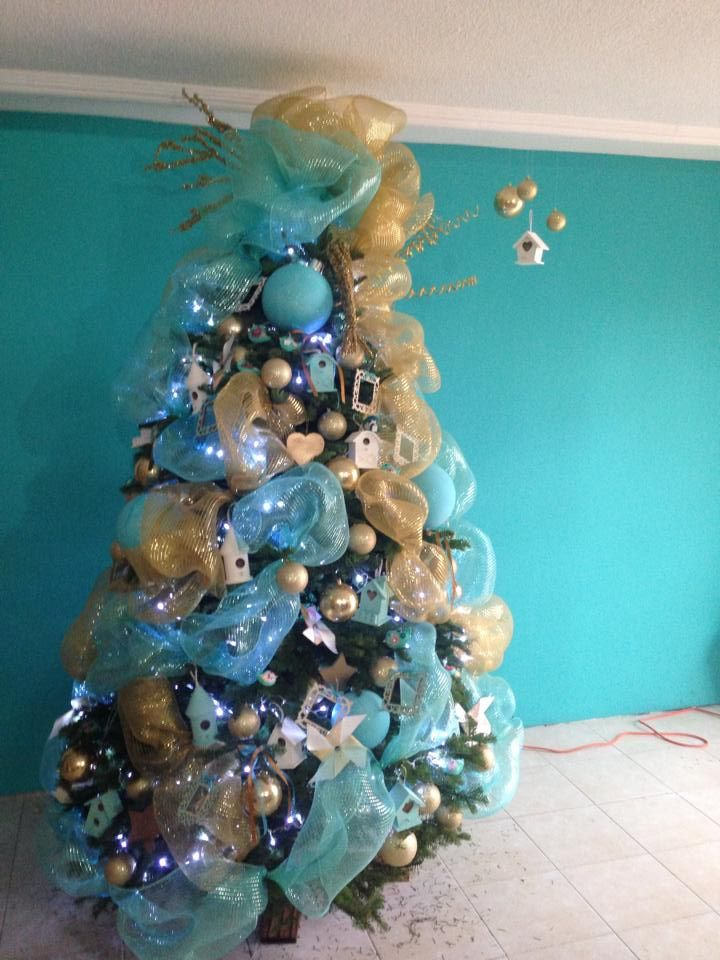 Ideas para decoracion de arbol de navidad 2015 for Arboles de decoracion