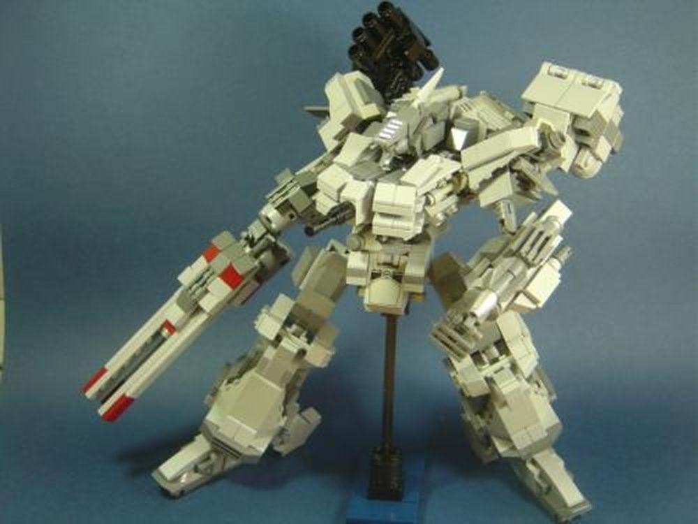 lego mech building instructions