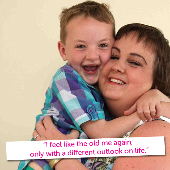 Lisa was diagnosed with a rare form of ovarian cancer last ...