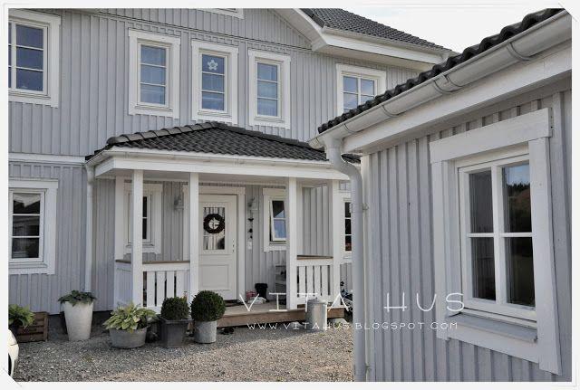 Die Nordfassade Ist Fertig Huis Voor Het Huis Veranda