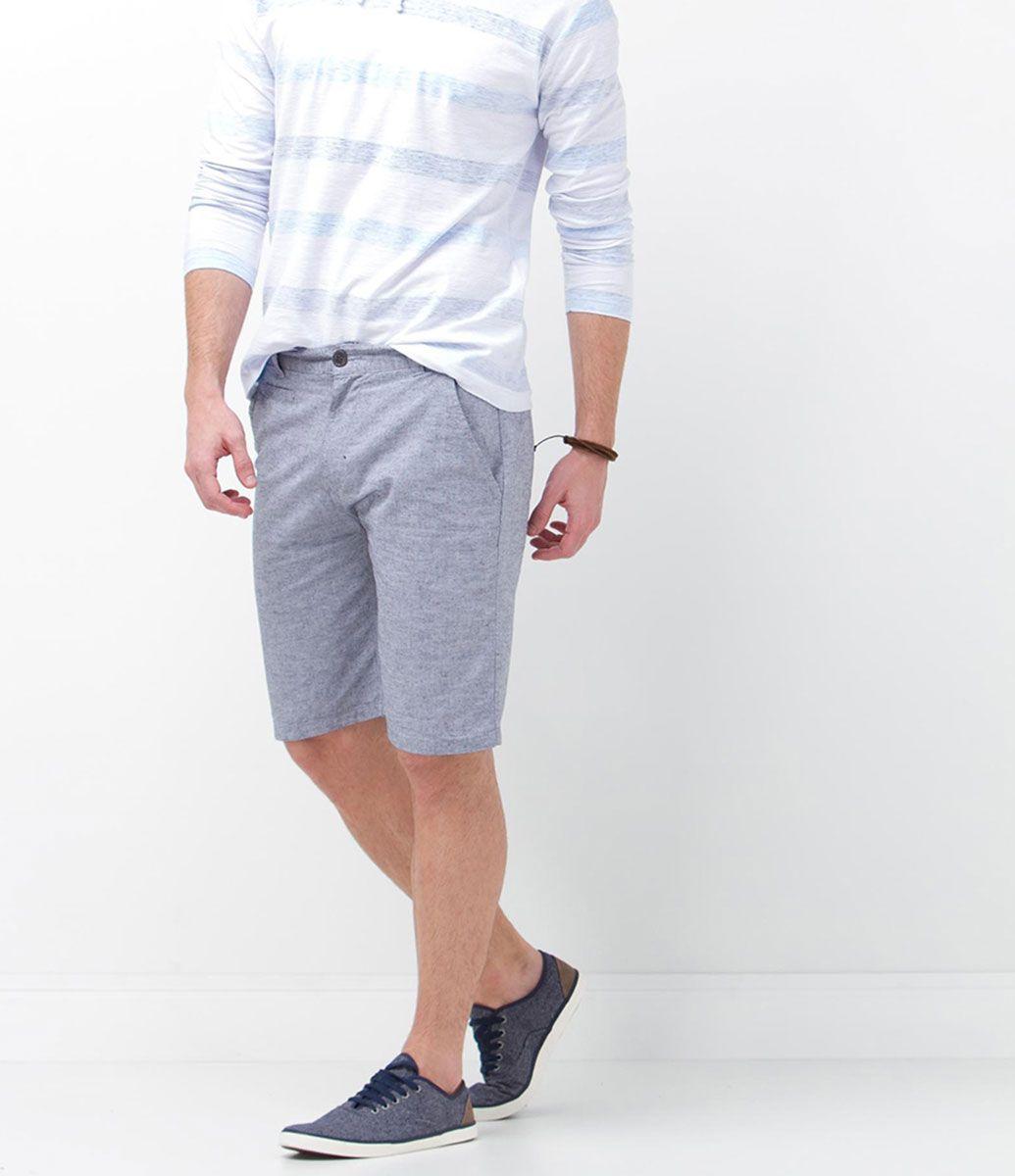 d636a3ceeed6 Bermuda Masculina em algodão - Lojas Renner | Urban | Bermudas ...