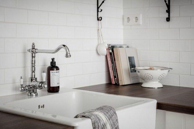Cuarto de baño y cocina en estilo rústico francés   Estilo ...