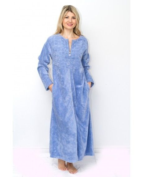 1b199ee832 Stan Hermans lovely 100% Cotton Chenille Robe available at Bath   Robes