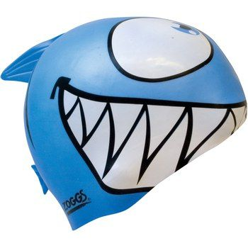 Zoggs swimming cap - so cute. Too bad they are only available in junior sizes ... :/