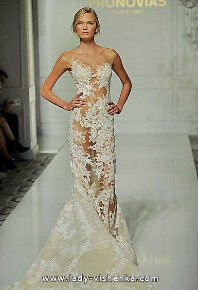 Transparentes brautkleid mit Spitze Alle Brautkleider http://de.lady ...