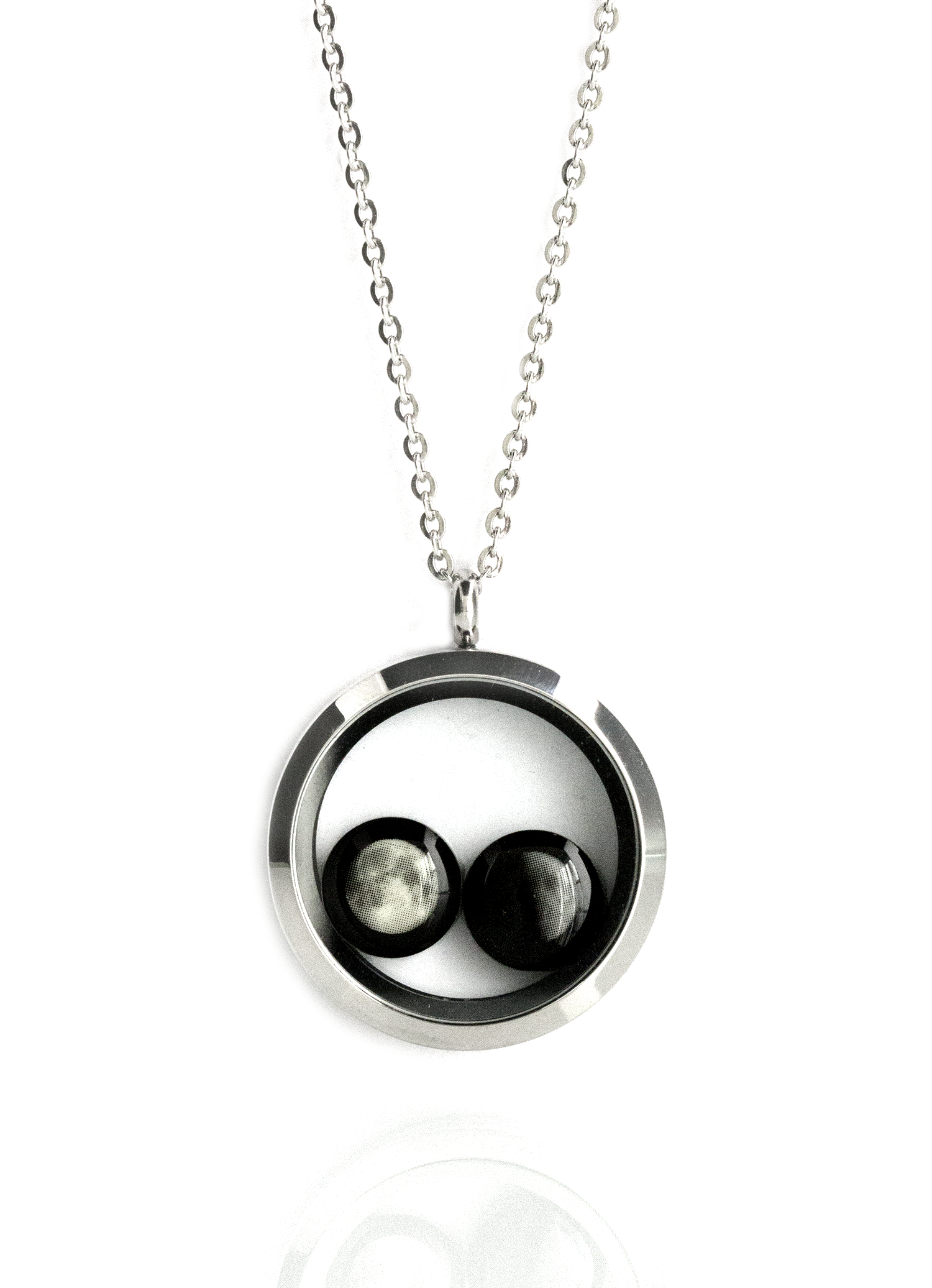 The lovers in a locket moonglow necklace moonglow jewelry my