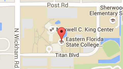 Eastern Florida State College Map.Map Of Eastern Florida State College To Do Pinterest
