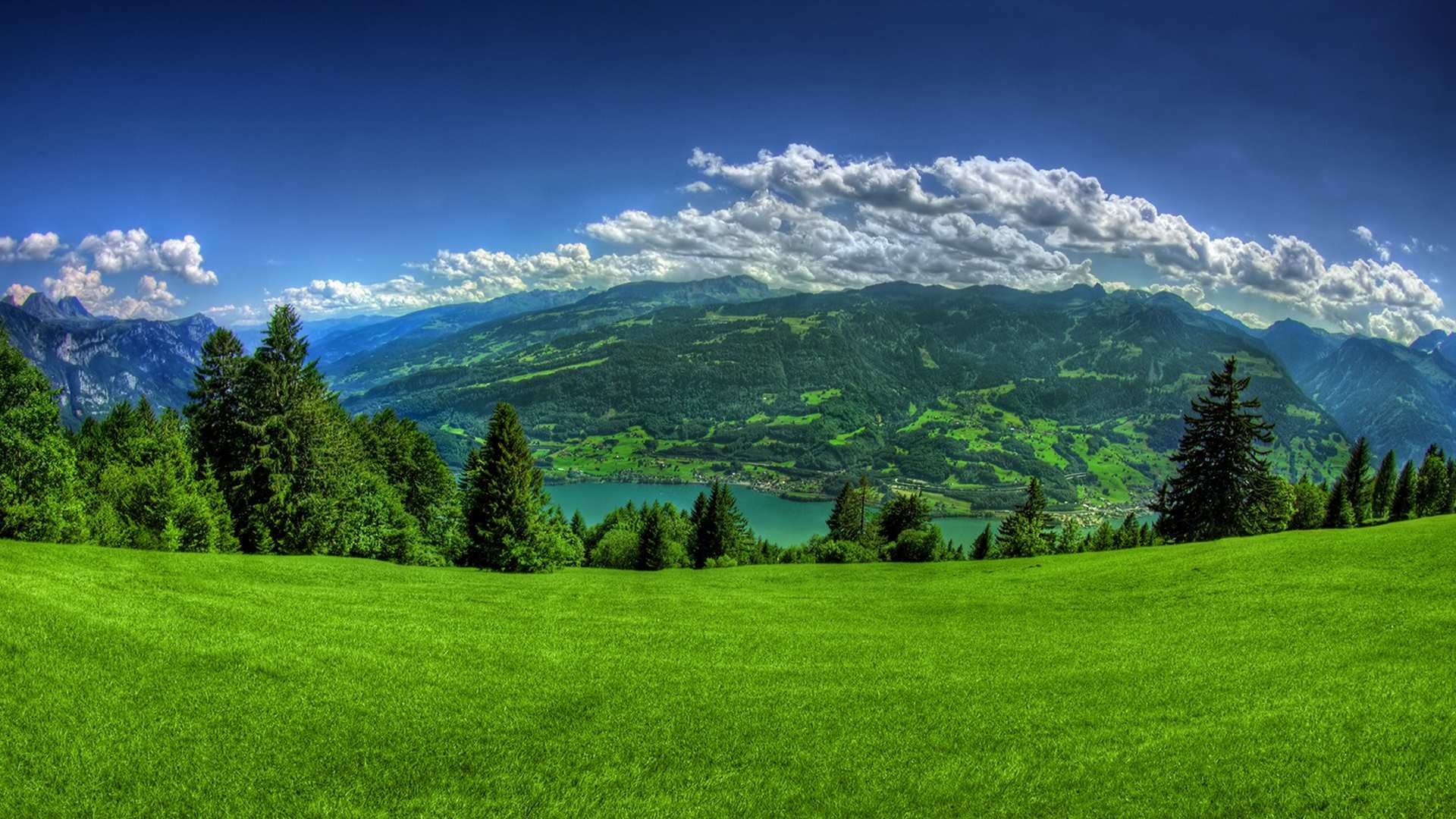 Switzerland Beautiful Nature Wallpaper Landscape Wallpaper Summer Landscape