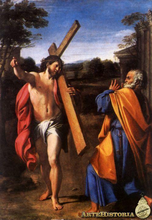 ANIBALE CARRACCI 1601 Domine Quo Vadis
