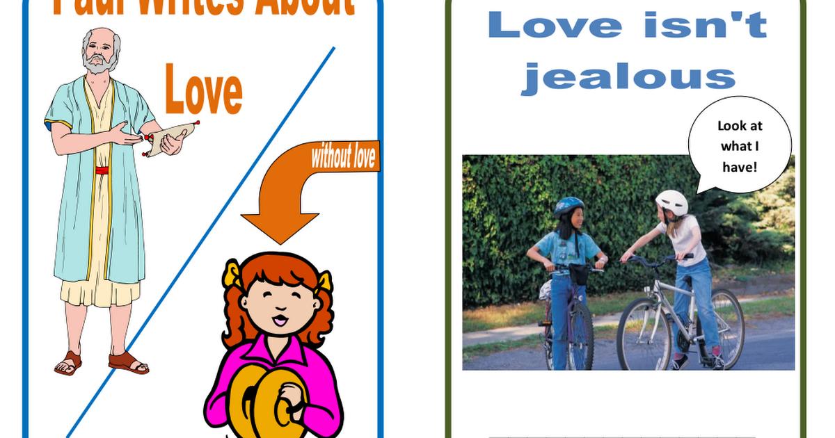 34  Love flip chart for students pdf | Bible studies | Chart