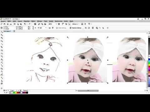Curso De Corel Draw Como Transformar Foto Em Desenho Pop Art