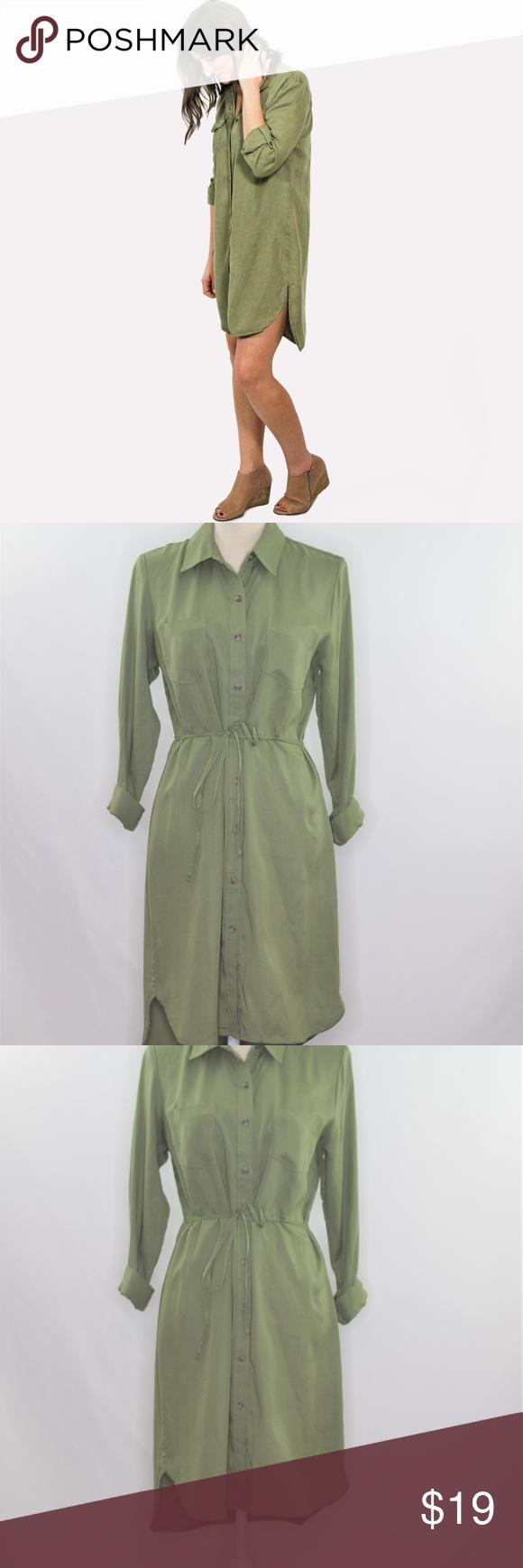 5 25 Long Sleeve Button Down Shirt Dress Button Down Shirt Dress Clothes Design Shirt Dress [ 1740 x 580 Pixel ]