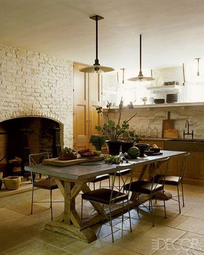 Kitchen   Elle decor, Kitchens and Nest on kitchen dinning room ideas, kitchen sitting area ideas, kitchen island sink ideas,
