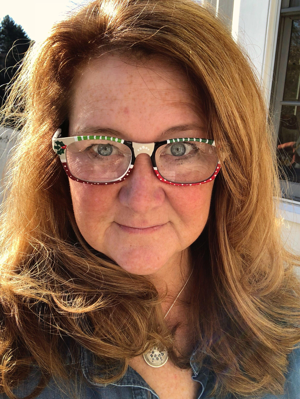 634dd76d396 Christmas handpainted reading glasses