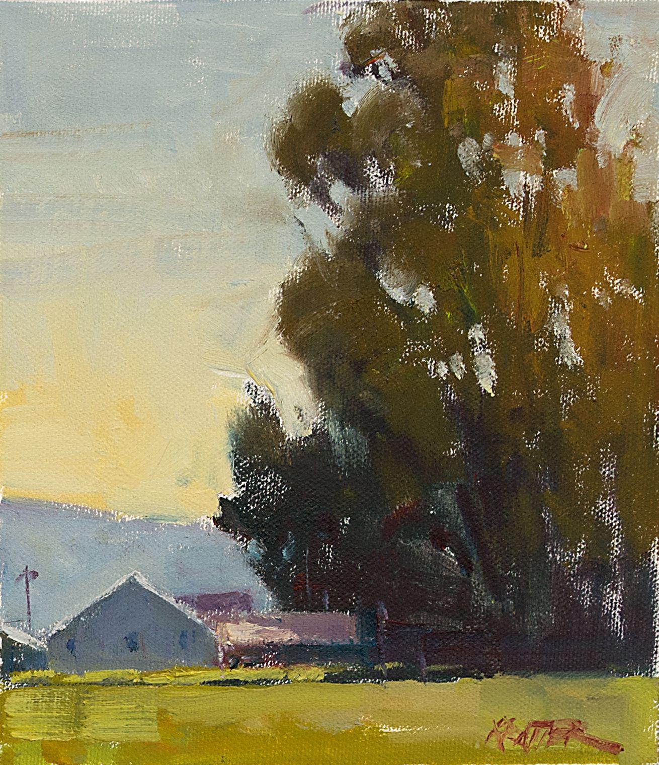 10 Paul Kratter Painting Small Paintings Plein Air Paintings