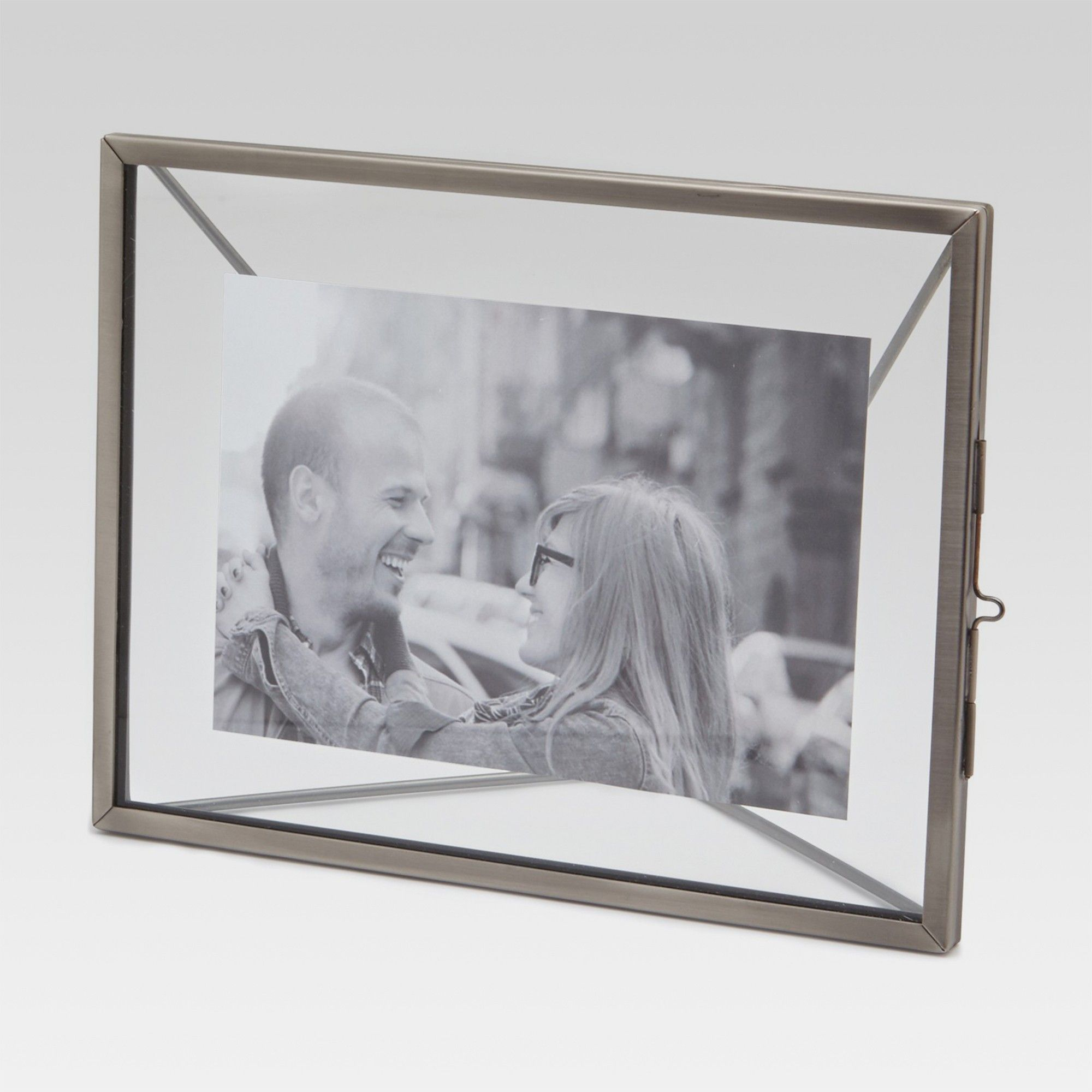 4x6 Thin Metal Frame Silver Threshold Products Frame Metal