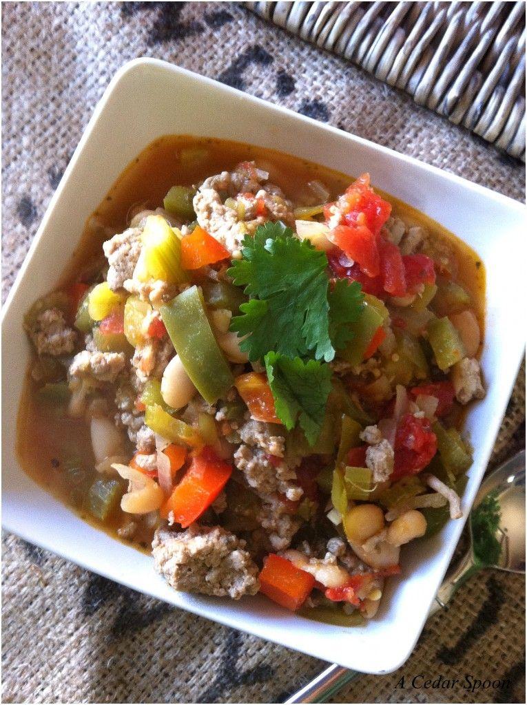 Cajun green chili recipe a cedar spoon recipe green
