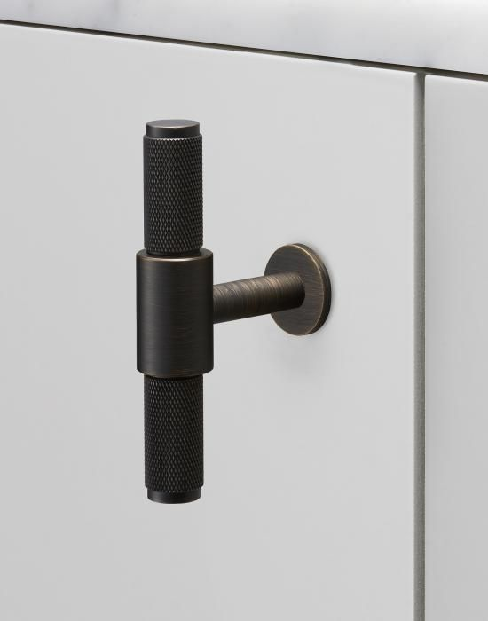 Holloways Of Ludlow Buster Punch T Bar Handle Wardrobe Handles