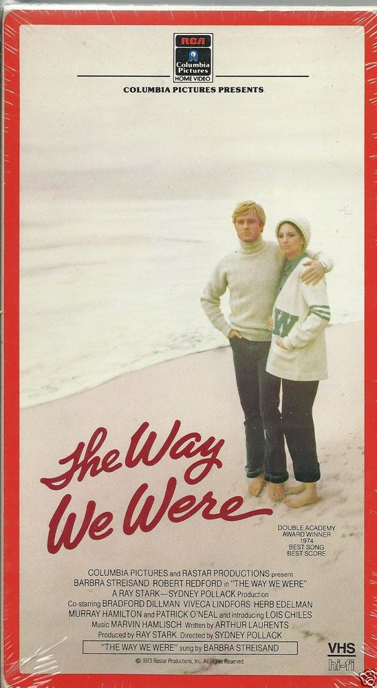 The Way We Were #VHS Tape NWOT #BarbaraStreisand #RobertRedford Vintage  #Drama. | Romantic drama film, Indie movies, Love movie