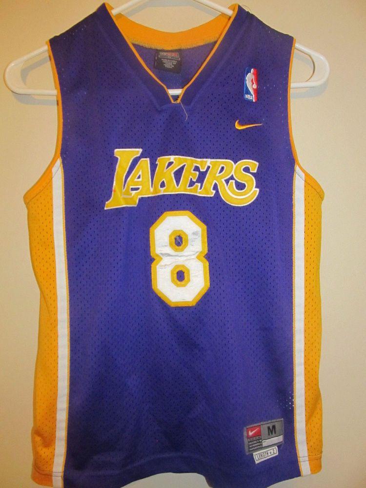 Vintage Kobe Bryant Los Angeles Lakers Jersey Nike Youth Medium Nike Losangeleslakers Kobe Bryant Los Angeles Kobe Bryant Los Angeles Lakers