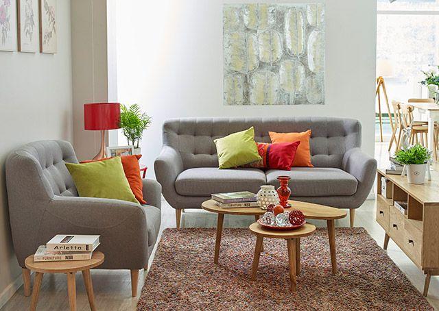 Los mejores consejos para decorar espacios pequeños Sofá, Sillones