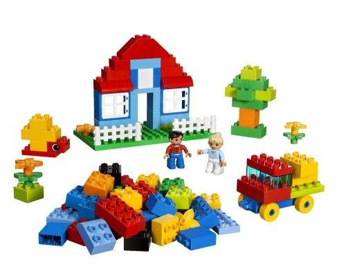 lego duplo houses, trees, and cars. Луго Дупло машинка, домик и ...