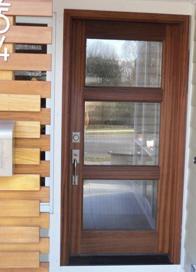 Modern Style And Rail Doors Modern Entry Doors Wood And Glass