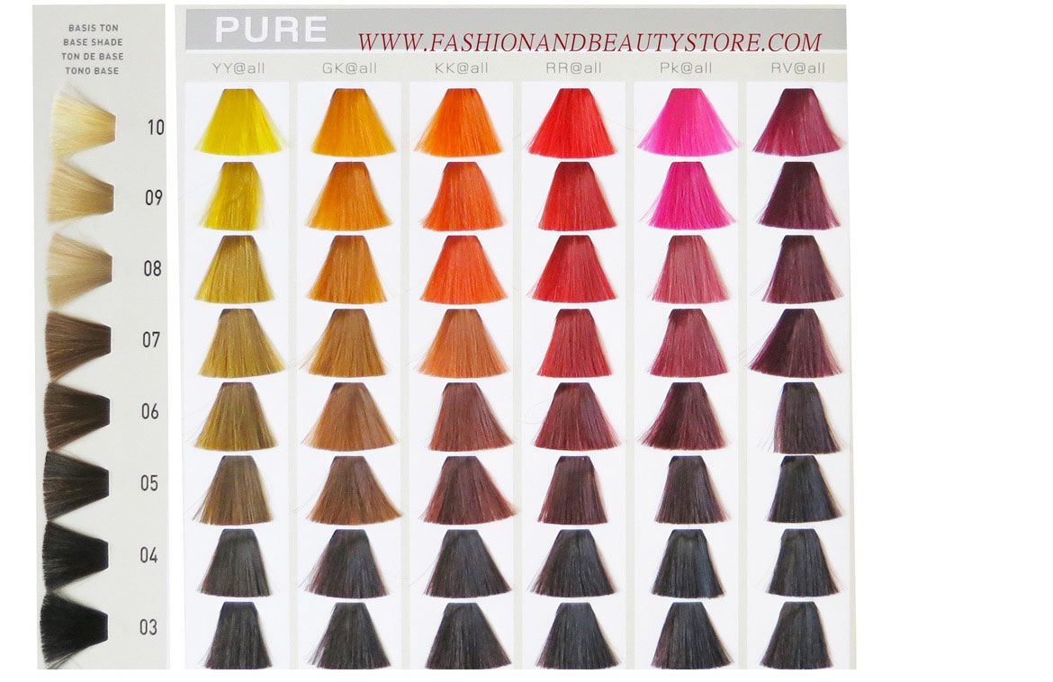 Goldwell elumen color chart part 4 crazy hair pinterest colour goldwell elumen color chart part 4 nvjuhfo Image collections
