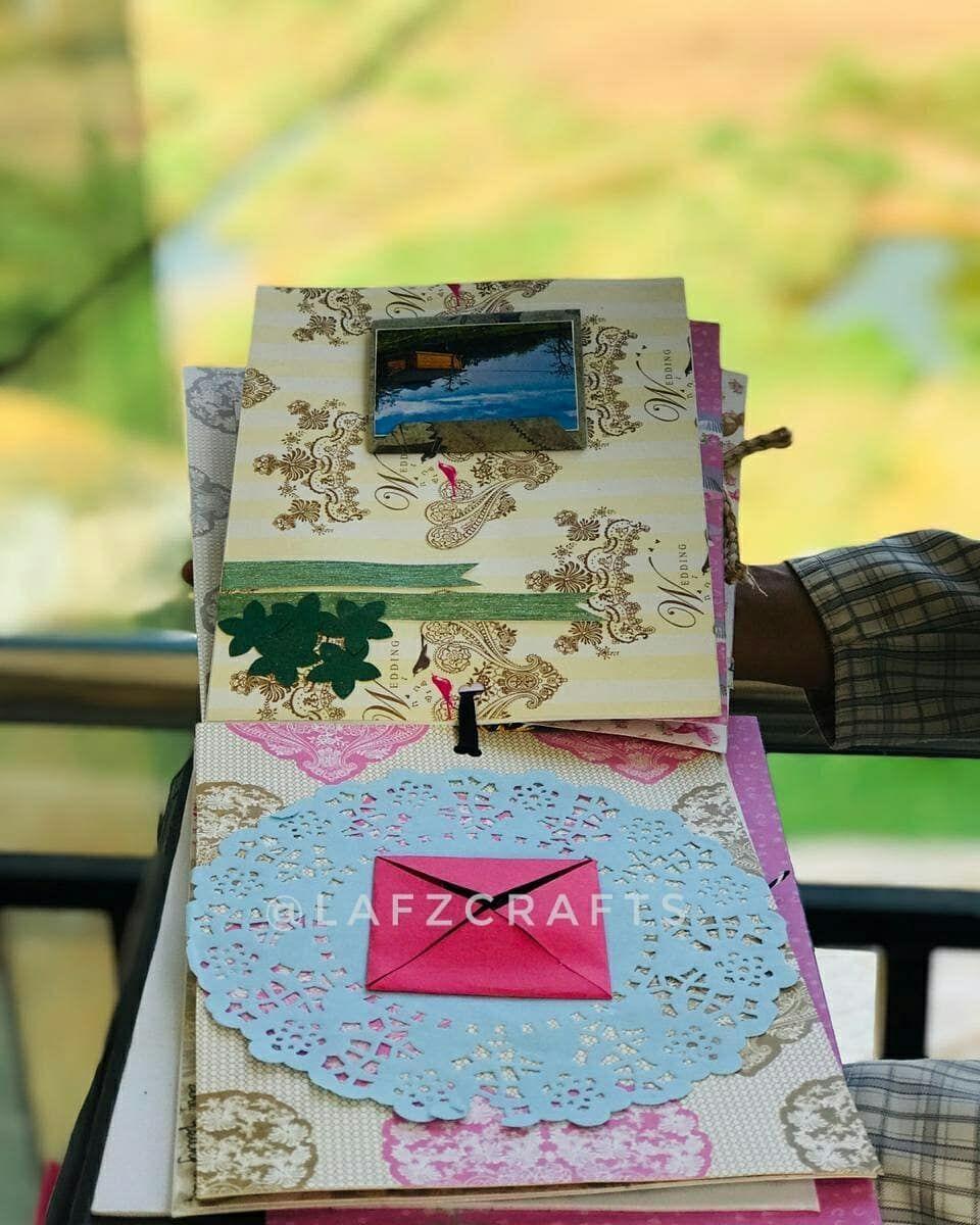 . Scrapbook 💞 . . . #birthday#craft#scrapbook#cards#art#artists#love#happiness#hobby#class#simple...