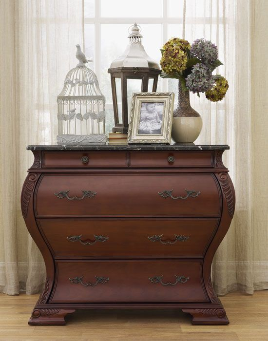Foyer Furniture Canada : Harrington bombé chest bombay canada home ideas