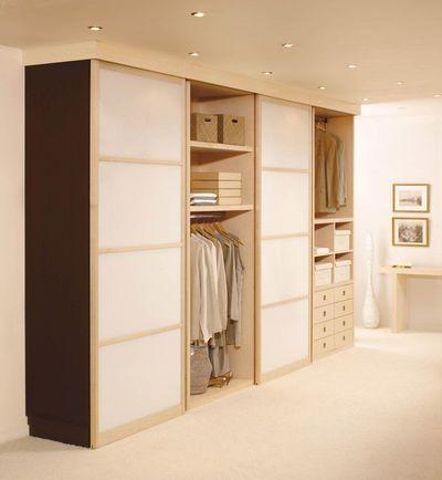 Dressing : les cinq clés d'un dressing bien organisé - CôtéMaison.fr