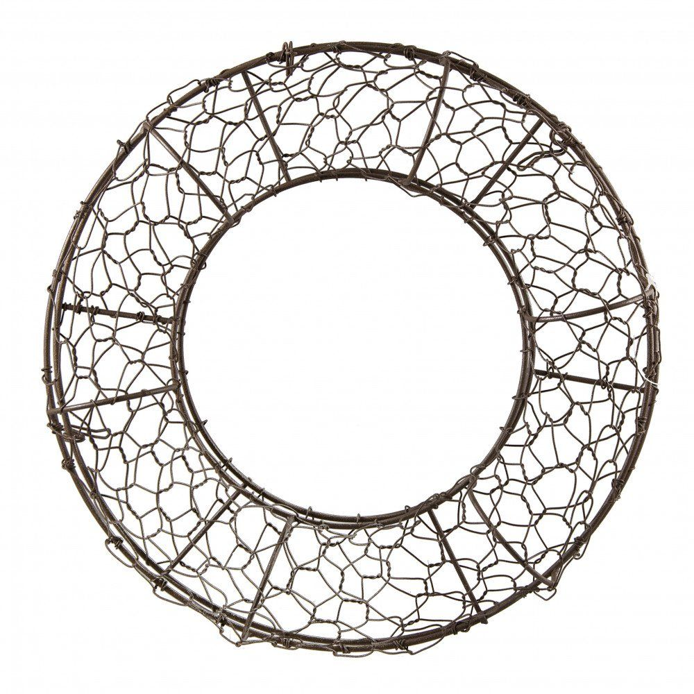 12 Fillable Rust Chicken Wire Wreath Form 36036 Wire Wreath Chicken Wire Crafts Wire Wreath Forms