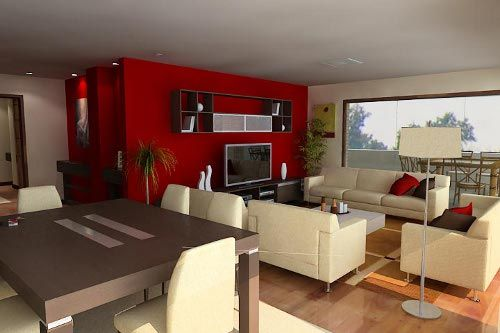 Ideas Para Decorar Una Sala Comedor Pintar La Sala Salas Y Comedor Juntos Decoracion De Salas