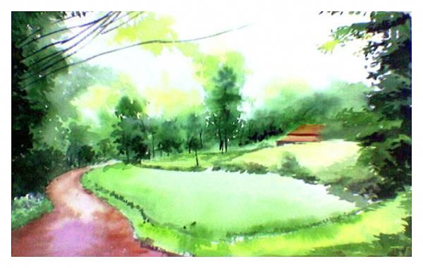 Greenery for peace