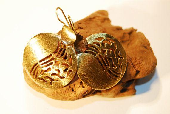 Dangle afghan  earrings Nickle free Tribal Earrings by NELAJAPAN
