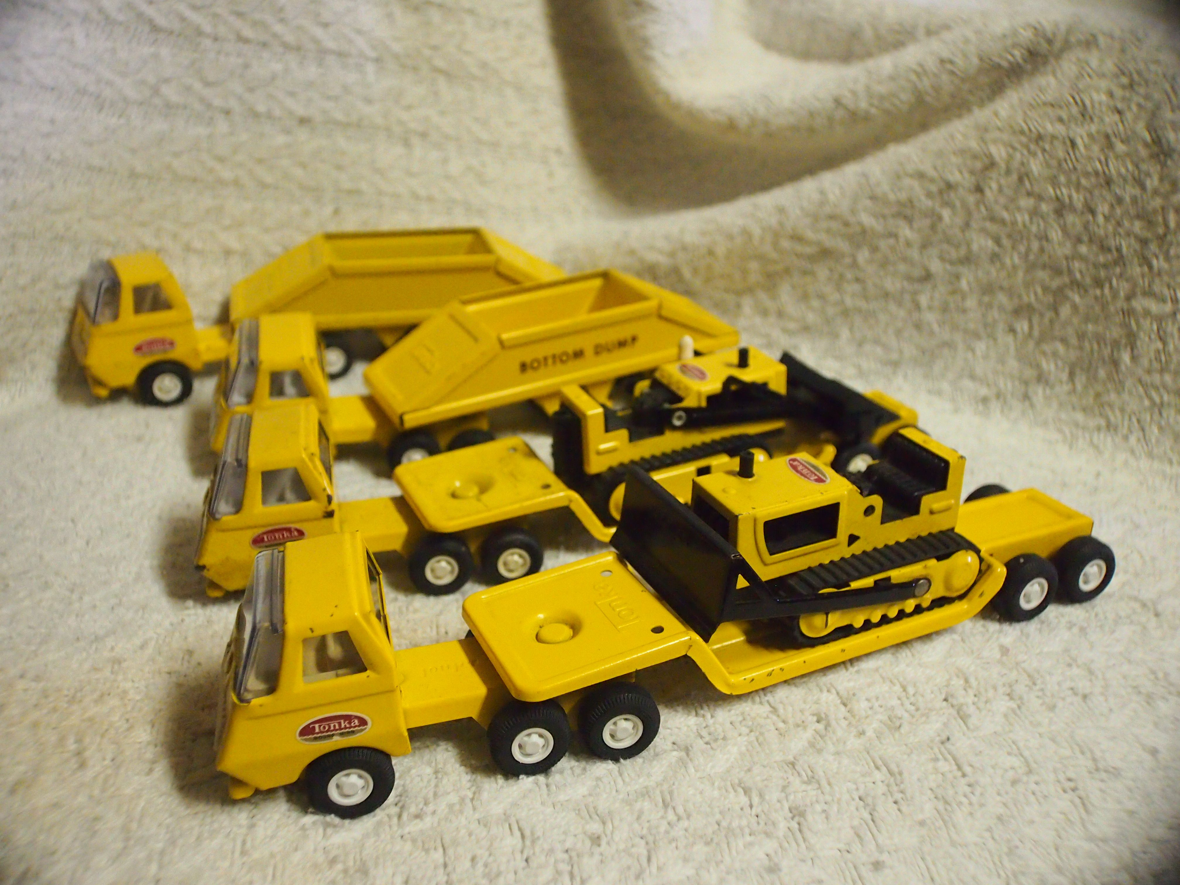 Tonka Construction Toys For Boys : Tonka tiny construction trucks toys